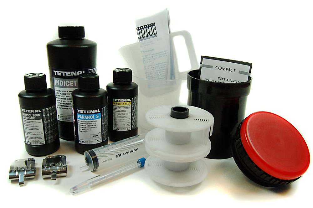 Ag essentials b w film processing kit